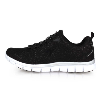 DIADORA 女韻律鞋-有氧 瑜珈 慢跑 黑銀