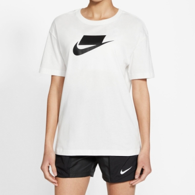 NIKE 上衣 短袖上衣 運動 女款 白DB9828100 AS W NSW ESSNTL TEE BOY FUTURA