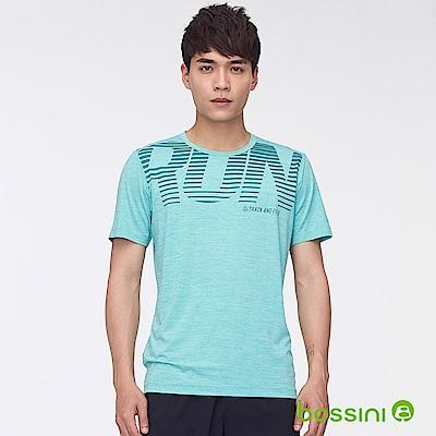 bossini男裝-ZtayDry快乾圓領短袖T恤06湖水藍