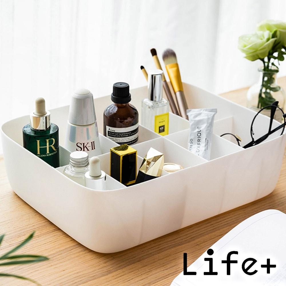Life+ 分隔置物收納盒_10格/無格 (2入組)