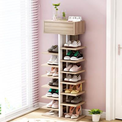 【家適帝】日式省空間好收納時尚鞋架(上開式14層置物架)