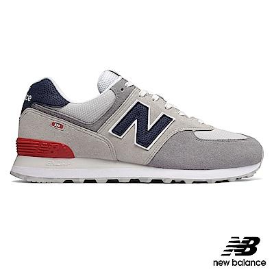 New Balance復古鞋ML574UJD中性白色