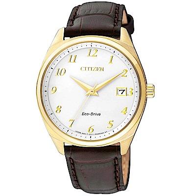 CITIZEN 時尚風格光動能腕錶(EO1172-05A)