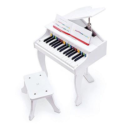 【德國Hape愛傑卡】電子鋼琴-白