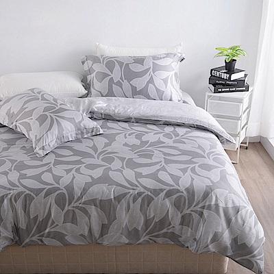 夢工場 薰風禪韻天絲頂規款兩用被鋪棉床包組-加大
