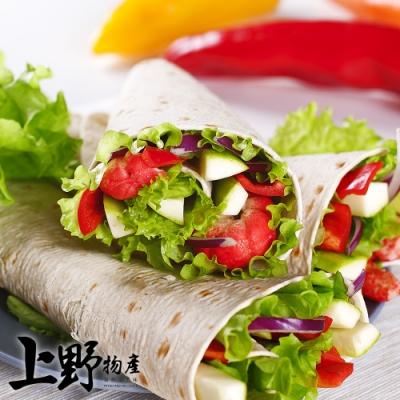 (烤肉任選899)【上野物產】Mexican Taco 墨西哥捲餅皮 (350g±10%/10片/包) x1包