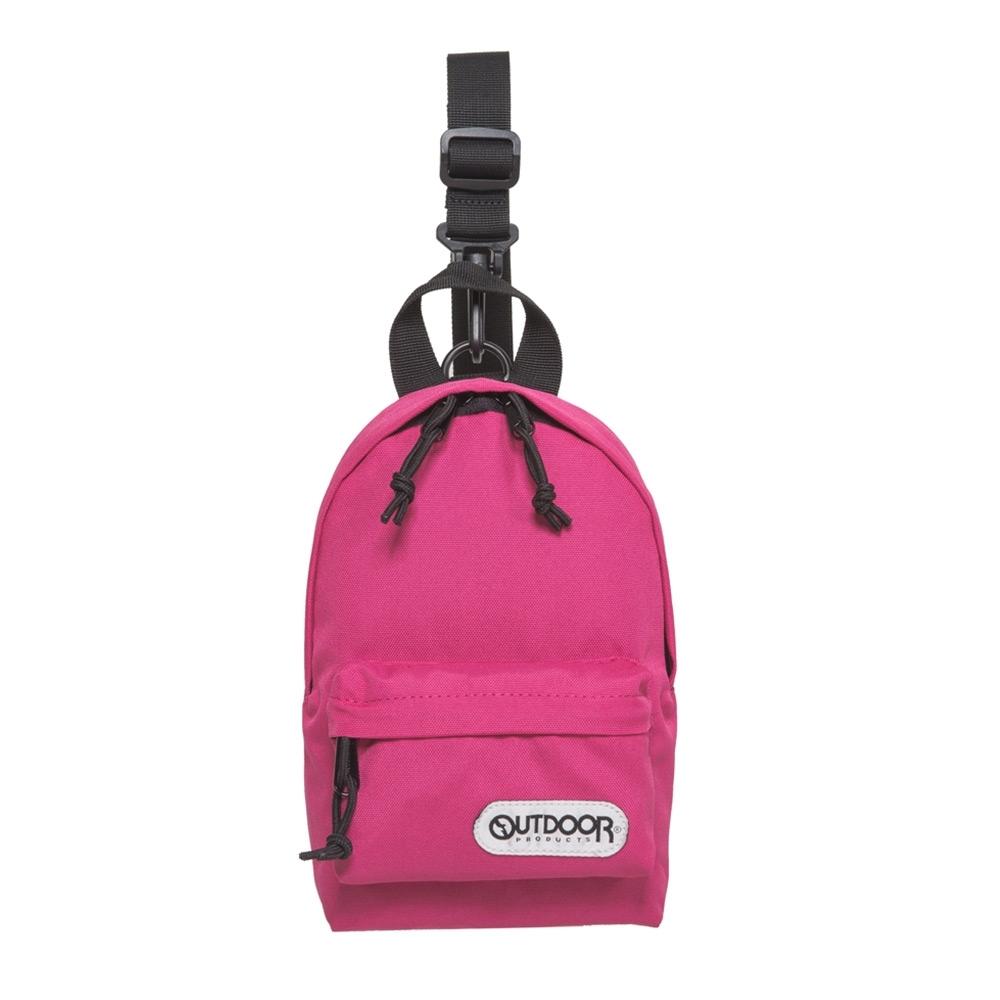 【OUTDOOR】單肩/側背二用包-粉紅色 OD291107PK
