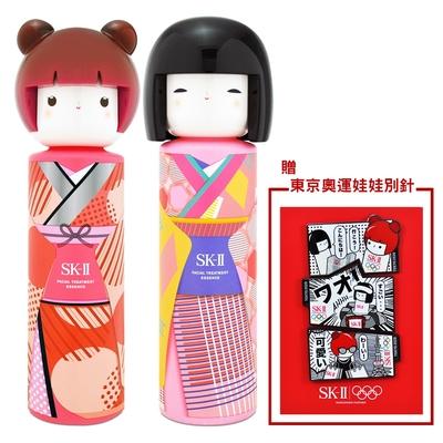 SK-II 青春露 230ml-TOKYO GIRL限量版 贈 東京奧運娃娃別針