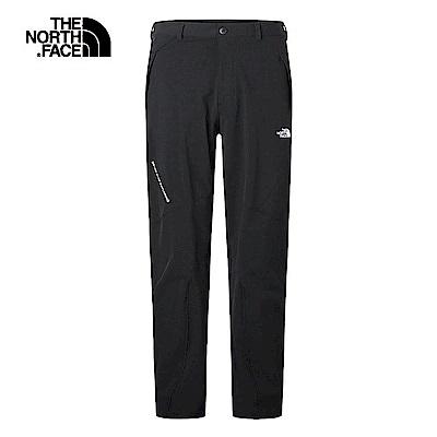 The North Face北面男款黑色防潑水透氣長褲|3RKWJK3