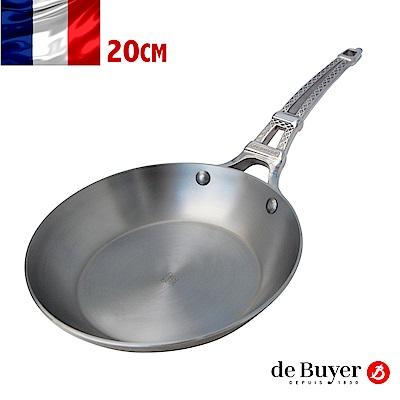 de Buyer畢耶 巴黎原礦蜂蠟系列-鐵塔柄平底鍋20cm