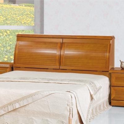 AS-泰勒實木樟木色5尺床頭箱-156x33x99cm