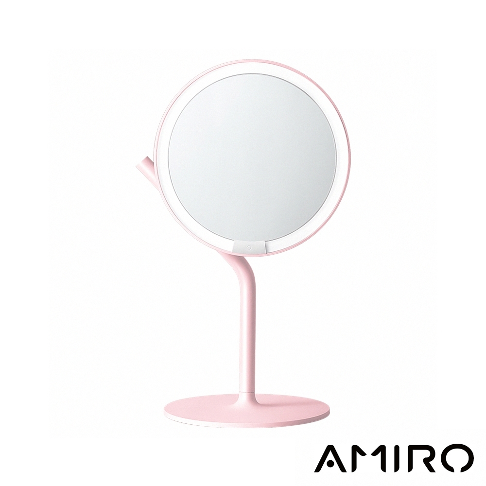 Amiro Mini 2.0 高清日光化妝鏡(小魔鏡)-櫻花粉