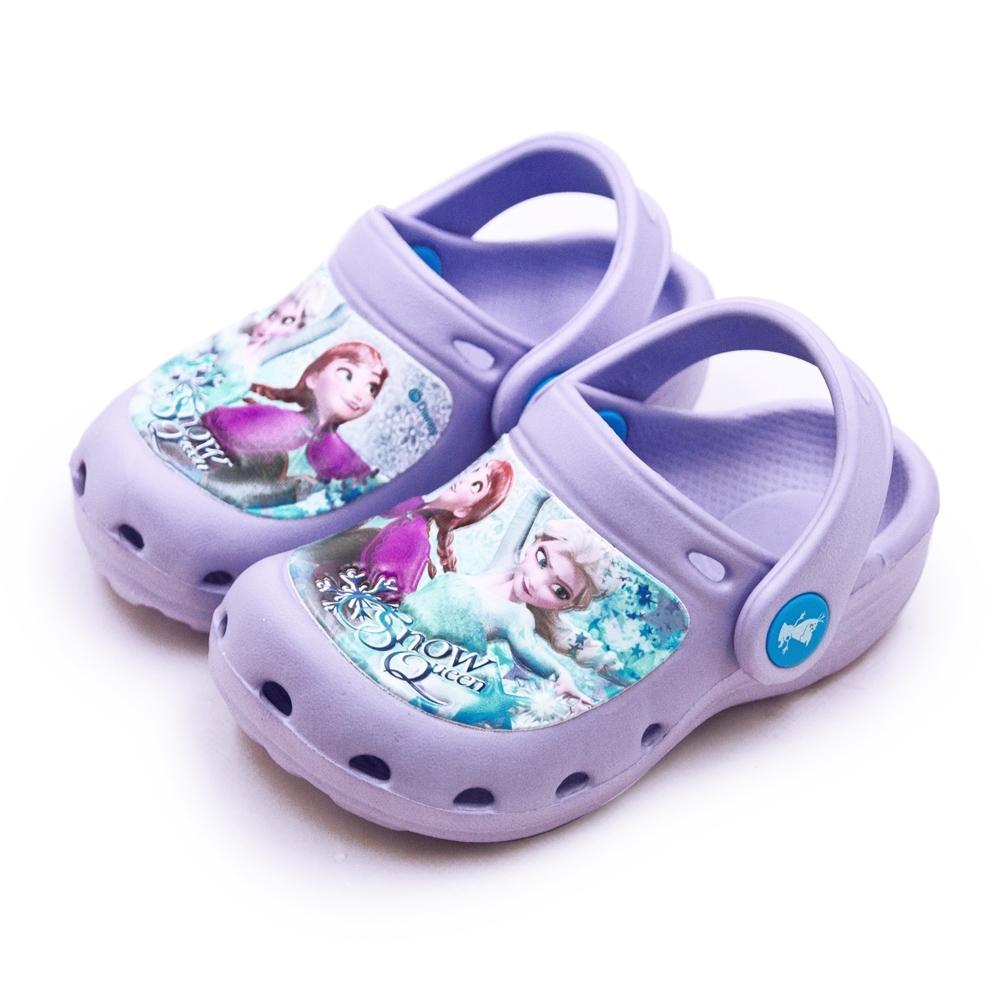 Disney 迪士尼 冰雪奇緣 FROZEN 輕量兒童涼鞋 粉紫 84017