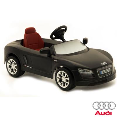 【AUDI奧迪】全台獨家 R8 12V充電式 電動兒童車 (原車縮小比例) 跑車型
