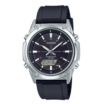 CASIO卡西歐 太陽能電力雙顯錶(AMW-S820-1A)