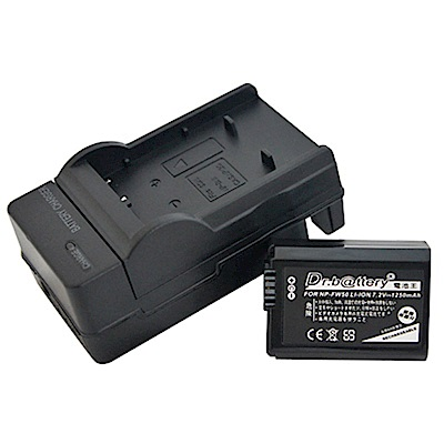 電池王 For SONY NP-FW50 高容量鋰電池+充電器組