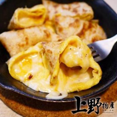 【上野物產】台灣營養素食全麥蛋餅皮(1800g±10%/30片/包)x10包