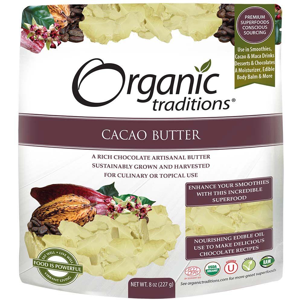 Organic Traditions 有機可可脂227g