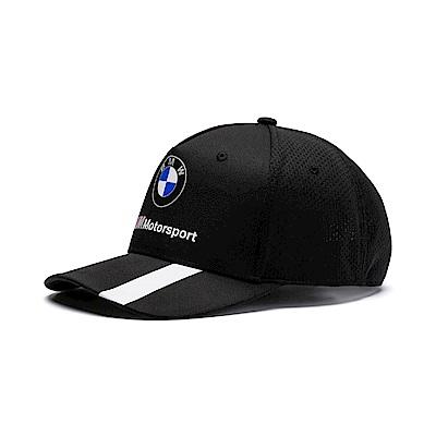 PUMA-男女BMW系列棒球帽-黑色