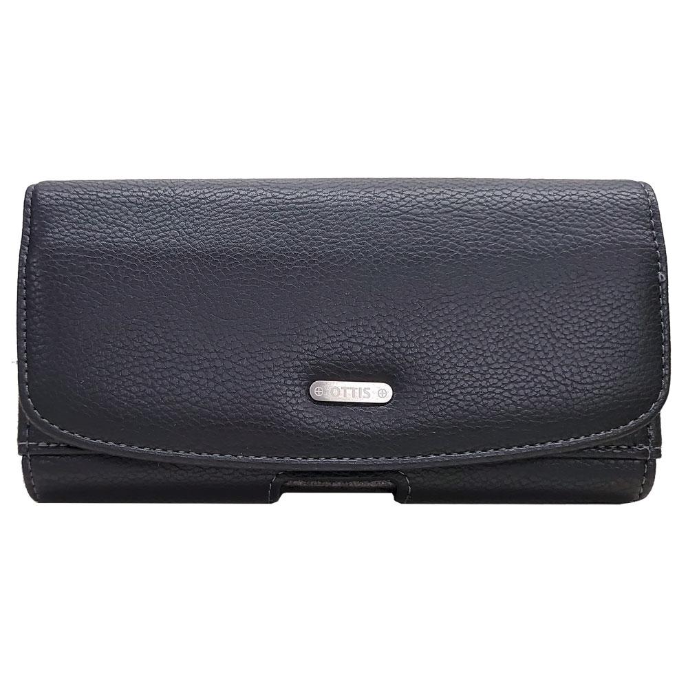 橫式紳仕腰掛手機保護皮套【小】5.8吋內適用