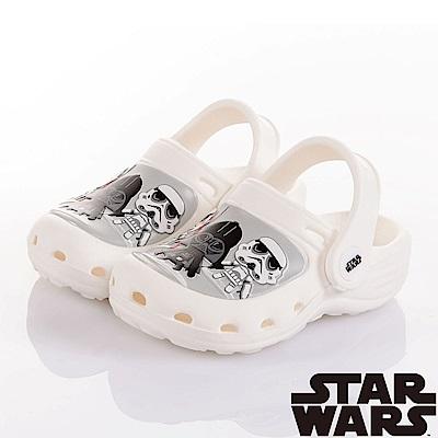 (雙11)StarWars 星際大戰 輕量拖涼鞋童鞋-白