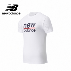 【New Balance】基本短袖T恤_男性_白色_MT11905WT