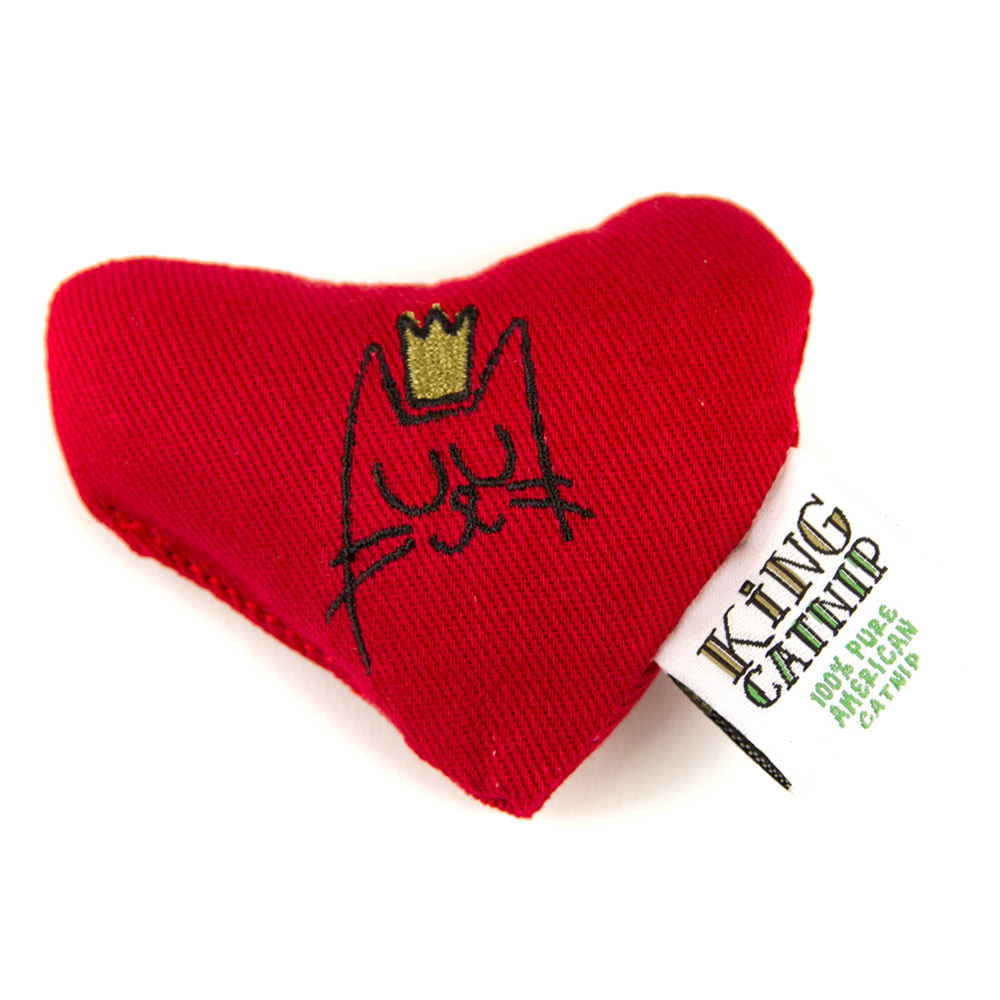 King Catnip北美天然有機貓草 貓草玩具 愛你一萬年 10cm 25g