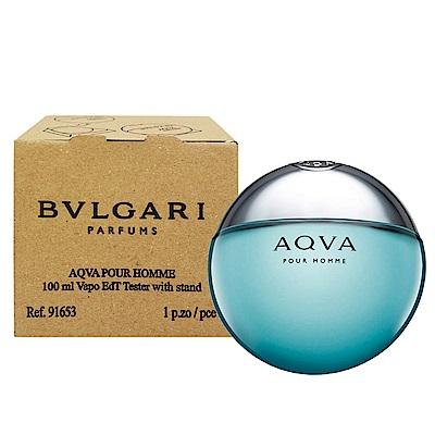 BVLGARI AQUA寶格麗水能量男性淡香水100ml-Tester