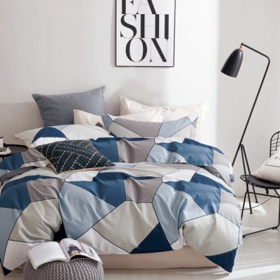 ($39加購口罩套)A-ONE 雪紡棉床包枕套組 單/雙/大均價-台灣製