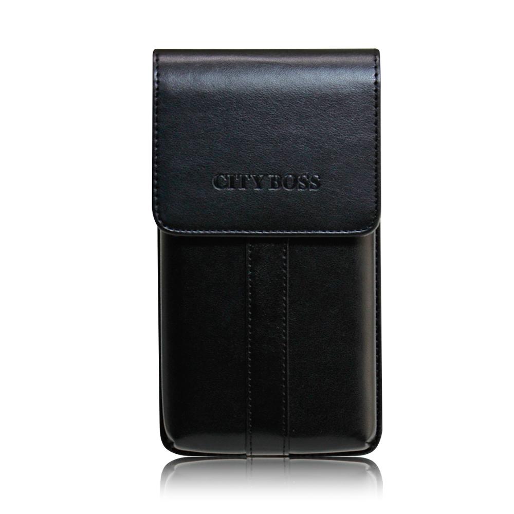 CITY  iPhone Xs/ iPhone X 帥氣直立手機腰包皮套