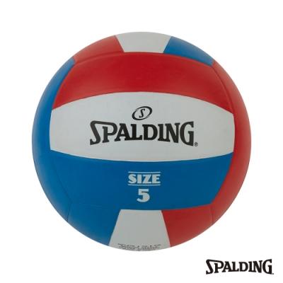 SPALDING Team 排球 紅/白/藍#5