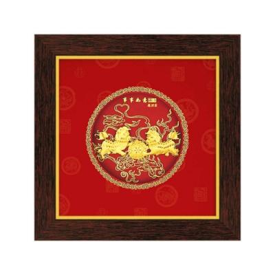 My Gifts 立體金箔畫-事事如意(圓形系列20.6x20.6cm)