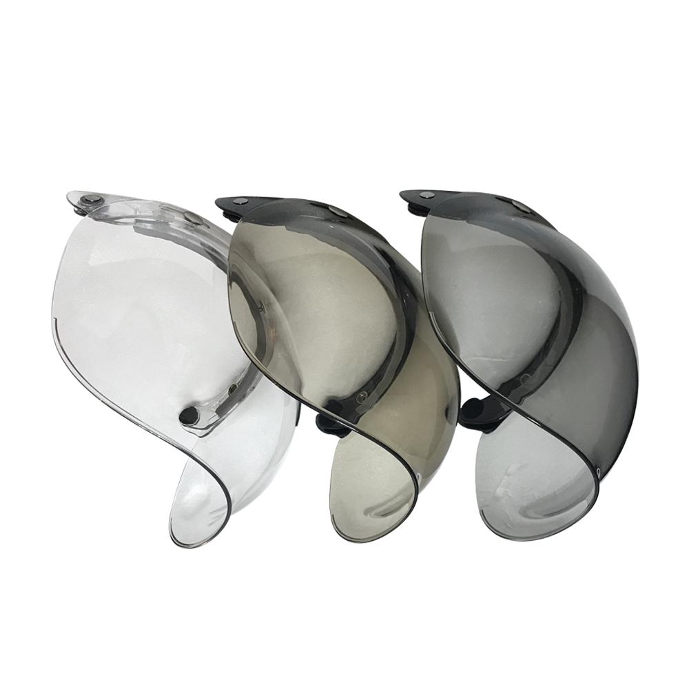 金德恩 台灣製造 曲面設計凸型安全帽鏡片/抗UV/CNS合格/三色可選