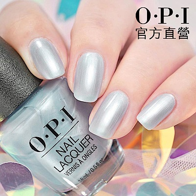 OPI 官方直營.閃耀黑曜指甲油-NLE98.凝結時光系列指彩/居家美甲