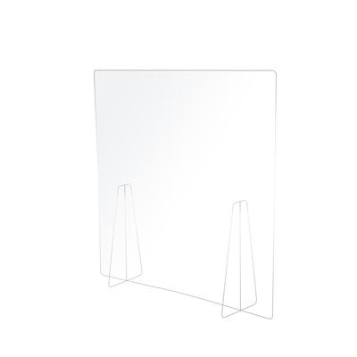 樂嫚妮 4入防疫隔板/餐廳/銀行/辦公-全透明-寬60高60厚0.2cm