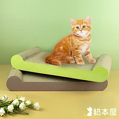 貓本屋 貓抓板 骨頭型
