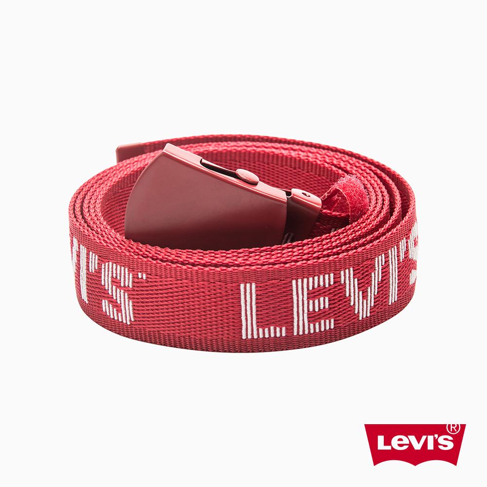 Levis 皮帶 男款 字母Logo 調整式金屬頭