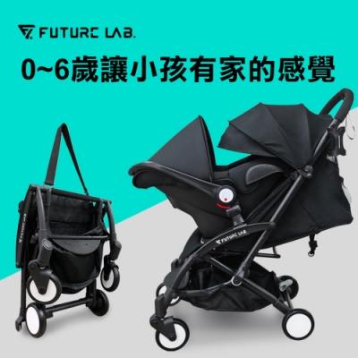 【Future Lab. 未來實驗室】6D 守護成長嬰兒車+提籃 防傾倒 變型 收納 安全 嬰兒推車 嬰兒車推薦