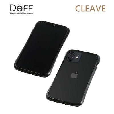 Deff CLEAVE 鋁合金保險桿 for iPhone 12/12 Pro 黑色
