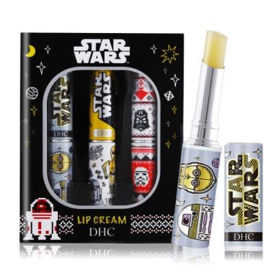 DHC 純橄欖護唇膏-STAR WARS 星際大戰 聯名限量款 三入組1.5gX3