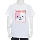 SKECHERS 女童短袖衣 - L120G084-0019