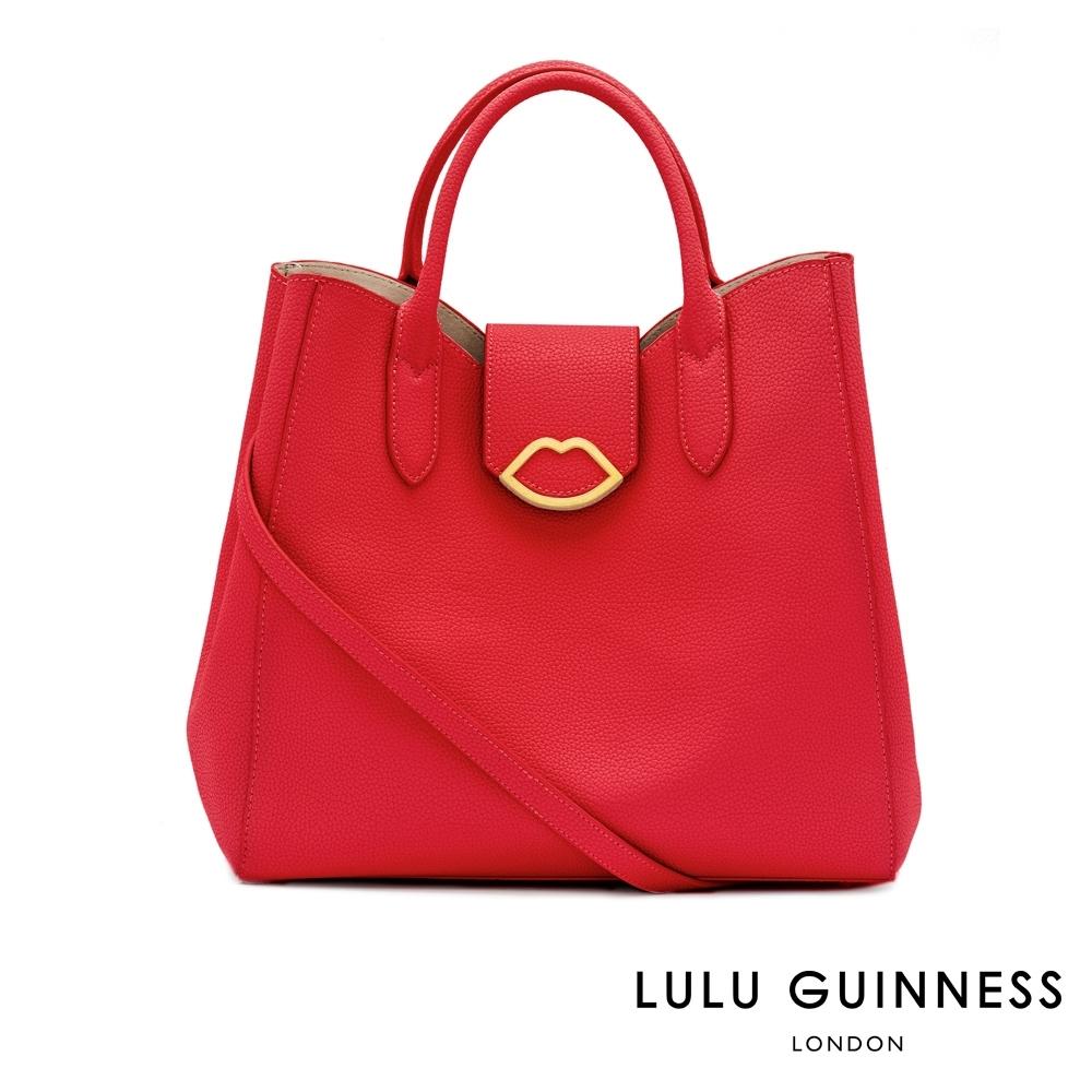 LULU GUINNESS LUELLA 手提/側背包 (紅)