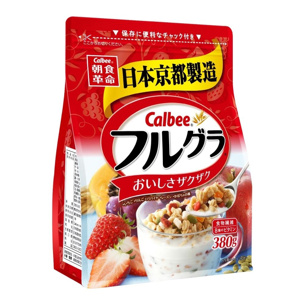 Calbee卡樂比 富果樂水果麥片(380g)
