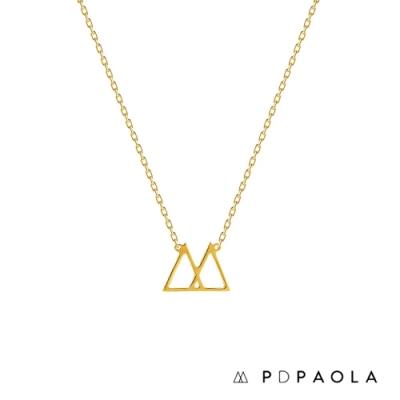 PD PAOLA 西班牙輕奢時尚品牌 Collar Gold 經典原創鍍18K金項鍊