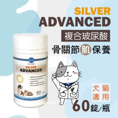 骨力勁-SILVER Advanced 60錠/瓶