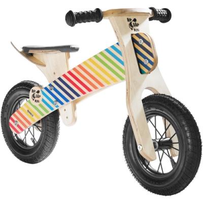 JAKO-O德國野酷-木製平衡滑步車-彩紅條紋
