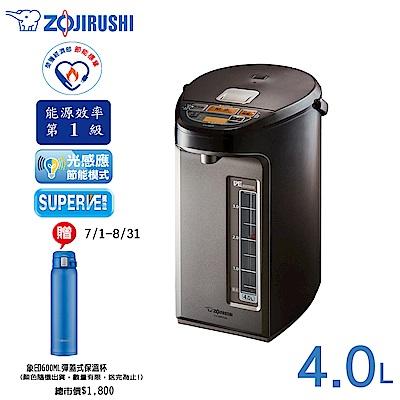 象印4公升 SuperVE真空省電微電腦電動熱水瓶CV-WFF40