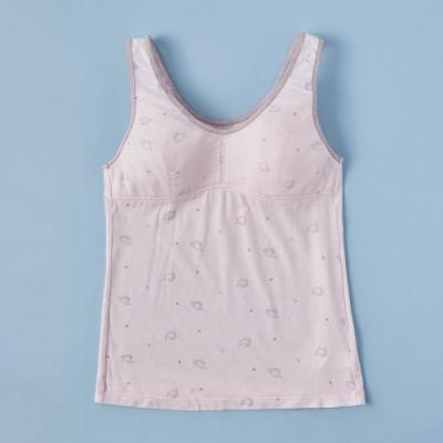 蕾黛絲-小刺蝟牛奶紗長背心曉女生 S-EL罩杯內衣 粉紅