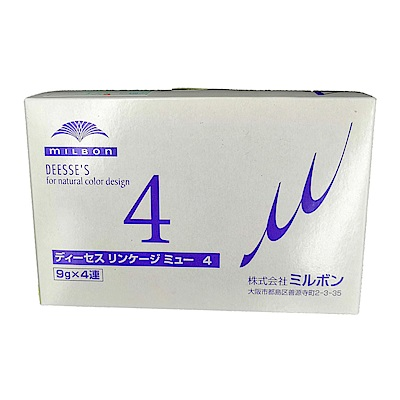 MILBON哥德式 柔漾護髮系列(公司貨)柔漾4 9Gx4(10盒入)