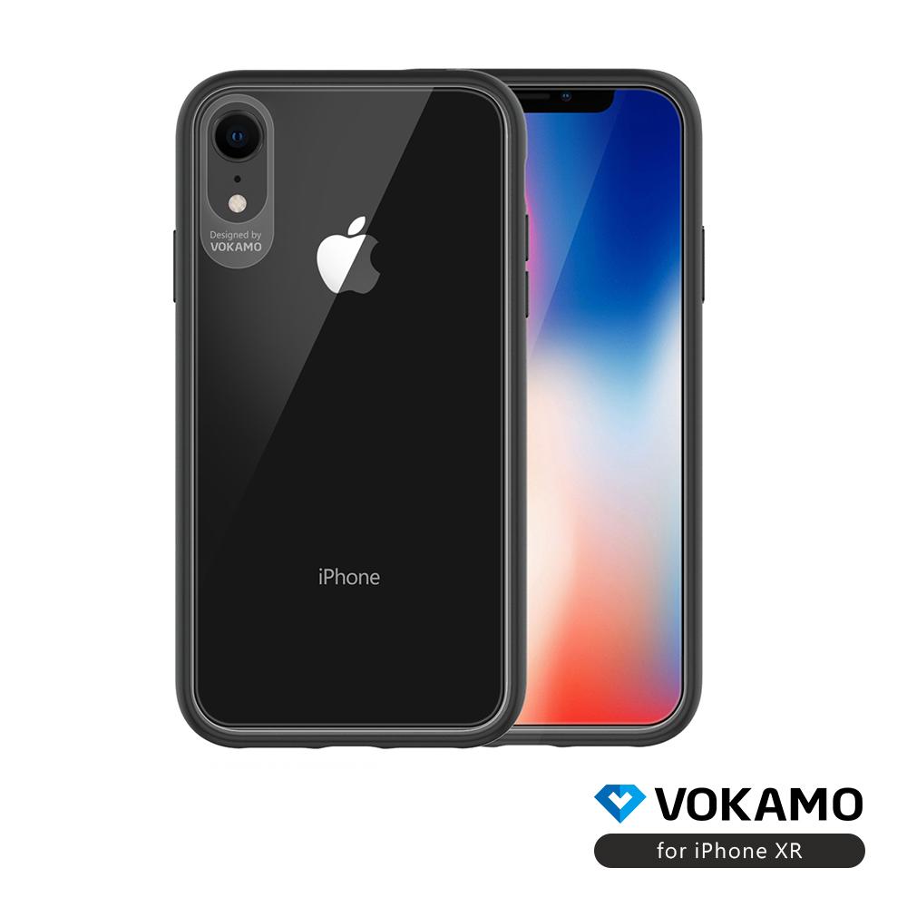 VOKAMO Graceful iPhoneXR 美軍規2.5米防摔認證透明保護殼